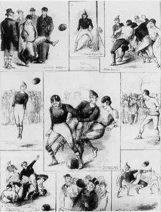 scotland v england first soccer internationa in 1872