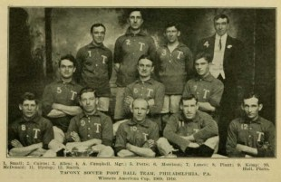 The 1910 American Cup winning Tacony FC