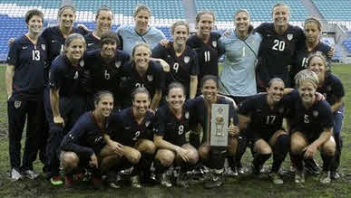 Winners of the 2010 Algarve Cup