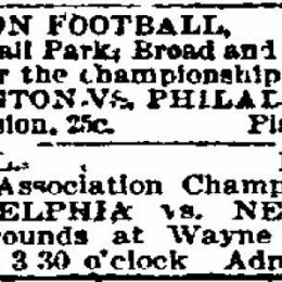 The Philadelphia Phillies &amp; early Philly soccer history