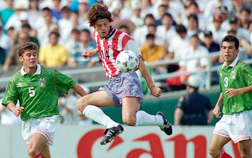 Frank Klopas v Mexico 1994