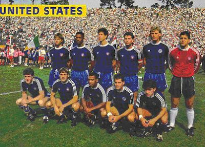 US Squad that lost 3-1 to USSR 2-24-1990