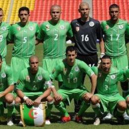 How are Algeria and Slovenia doing?