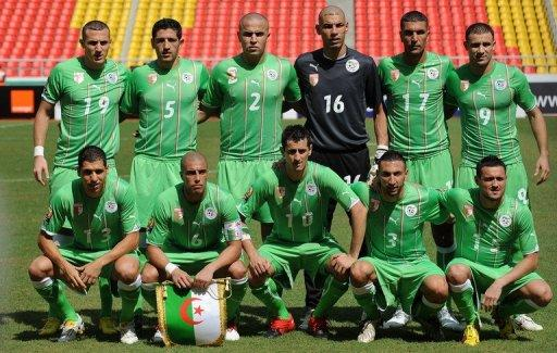 Algeria national football team all-time record
