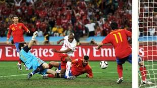 Spain Falls to Switzerland