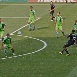 How could anyone think Danny Mwanga was a center midfielder? (Photo: Daniel Gajdamowicz)