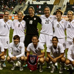 U.S. National teams starting lineup