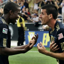 The Mwanga-Le Toux partnership has produced some unforgettable moments. (Photo by Nicolae Stoian.)