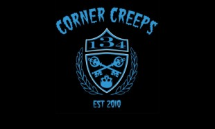 The other supporters group: The Corner Creeps