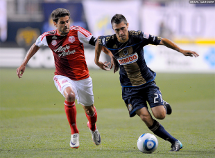 Chivas USA 0-1 Union; Nowak, Daniel, Garfan ejected