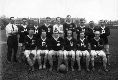 Bethlehem Steel in 1921. Photo courtesy of Dan Morrison/bethlehemsteelsoccer.org