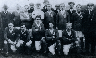 Tacony v Bethlehem for the 1914 American Cup