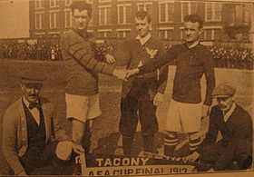 Tacony v True Blues in 1913 American Cup final