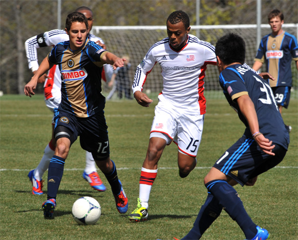 In pictures: Union Reserves 4-2 Revolution Reserves