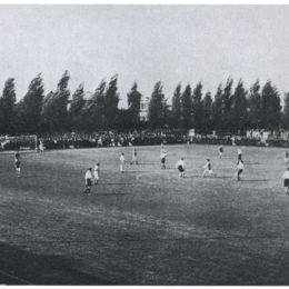 All Philadelphia vs. Corinthians at Germantown Cricket Club in 1906.