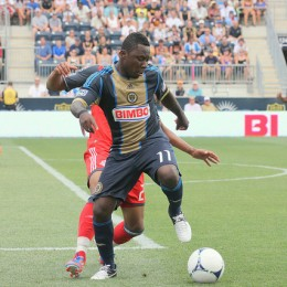 Freddy Adu did a lot of fancy footwork