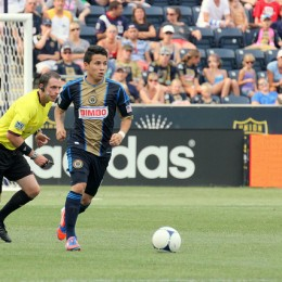 Roger Torres had plenty of touches after coming off the bench