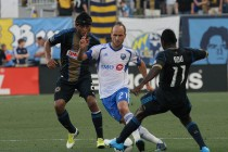 Former Union midfielder Justin Mapp is a key part of Montreal's midfield. Photo: Paul Rudderow.