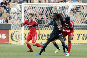 A healthy Arne Friedrich will be key to Chicago's back line. Photo: Paul Rudderow