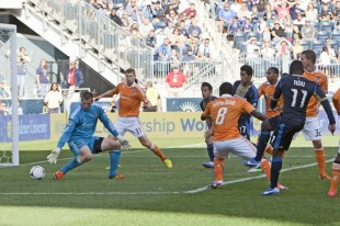 In pictures: Union 3-1 Dynamo