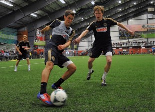 Union open practice at YSC Sports, Jan. 21, 2013