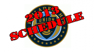 2013 Union schedule released