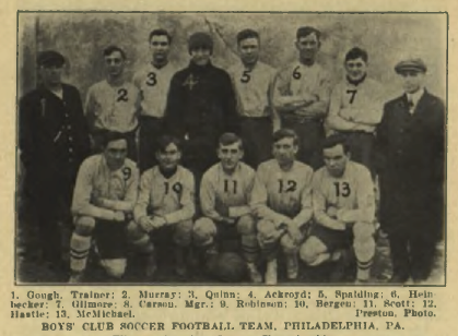 Boys Club 1912-1913