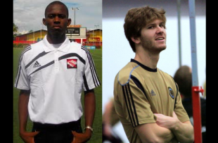 Union sign Damani Richards and Aaron Wheeler