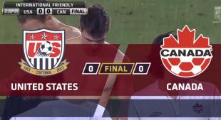 Recap: USA 0–0 Canada