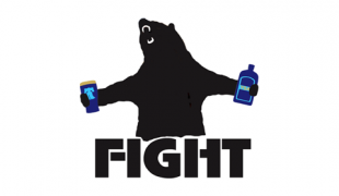 The other supporters group: Bearfight Brigade