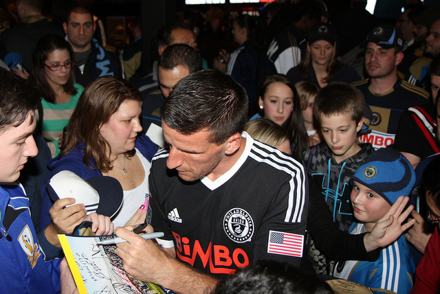 Sebastien Le Toux was a crowd favorite