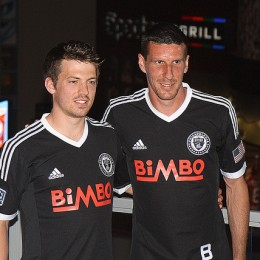 Antoine Hoppenot and Sebastien Le Toux sporting the new look