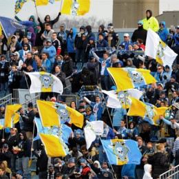 Fans' View: C'mon you Boys in Blue (or black — your call, really)