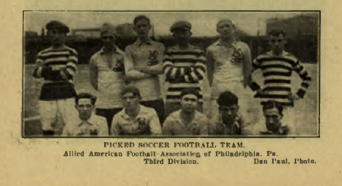 Allied American 3rd Division Picked XI 1912-13