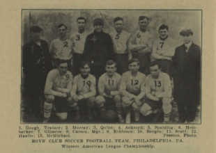 Philly soccer 100: USFA founded, Cup semis, Bethlehem tops Boys Club