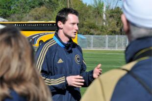 Former Union assistant coach Brendan Burke. (Photo: Earl Gardner)