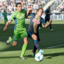 Photo Essay: Red cards and Danny Cruz…Union 2-2 Seattle