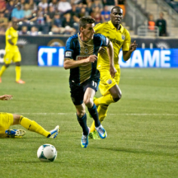 Sebastien Le Toux and the Union smoked Columbus last year, and it could be another rough year for the rebuilding Crew. (Photo: Michael Long)