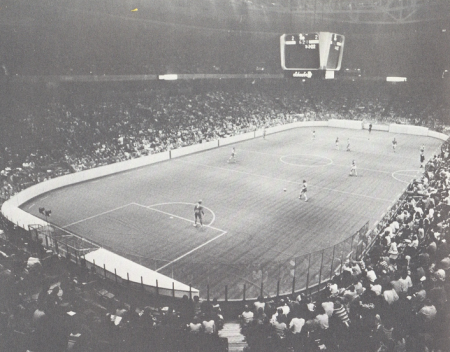 The Atoms face the Russian Red Army team at the Spectrum. Photo courtesy of nasljerseys.com