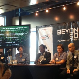 Opening Panel at Beyond Soccer Summit