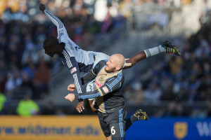 Ike Opara and Conor Casey will go at it again this year. (Photo: Daniel Gajdamowicz)
