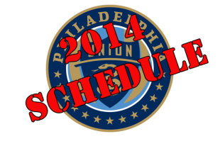 Union 2014 schedule released