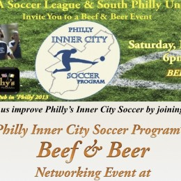 Beef and beer benefit for Philly inner city soccer