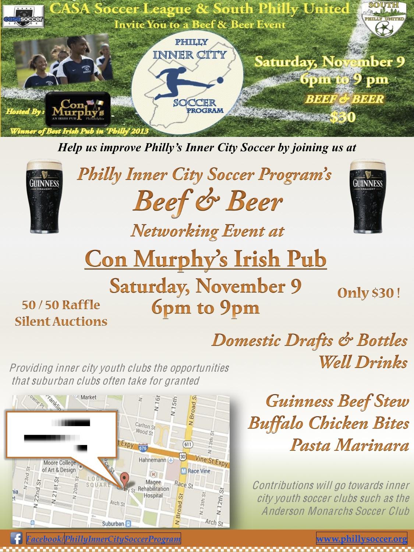 CASA Beef & Beer Event