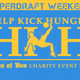 Sons of Ben Help Kick Hunger event caps SuperDraft Weekend