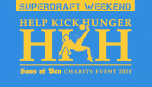 SoBs Help Kick Hunger charity event to cap SuperDraft Weekend