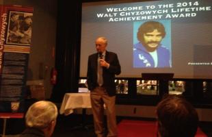 Gene Chyzowych honored with lifetime achievement award