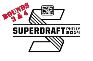 Union select defender and three attacking mids in final rounds of the MLS draft