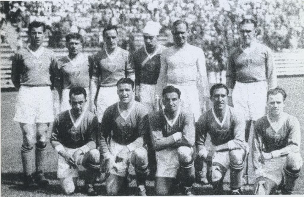 1934 US WC team v Mexico