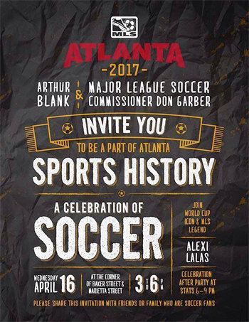 Atlanta announcement ad